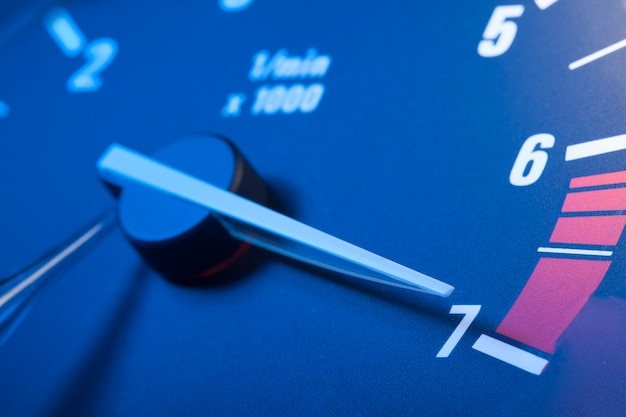 Tachometer with max boost power.