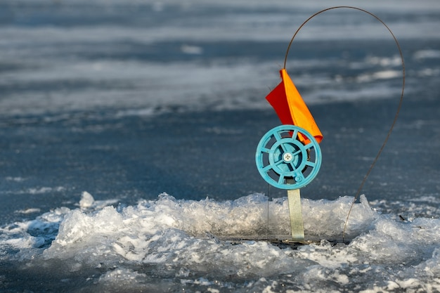 Tackle for winter fishing, fishing in the winter in the hole on live bait.