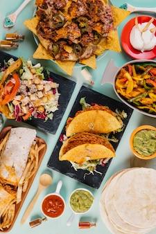 Тако и другие мексиканские блюда