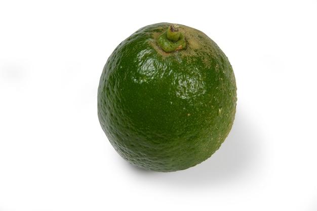 Лимон тахини, типичный для бразилии в белом изолированном
