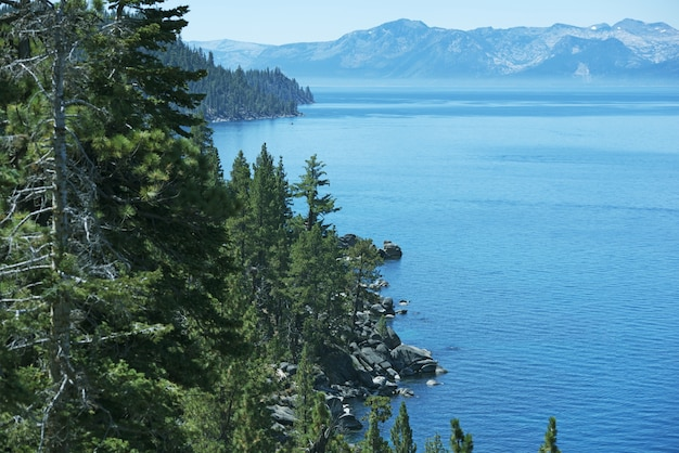 Tahoe summer panorama