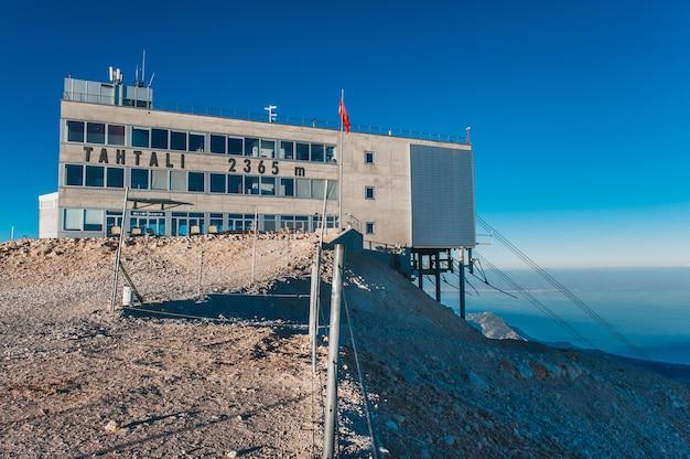トルコtahtali山