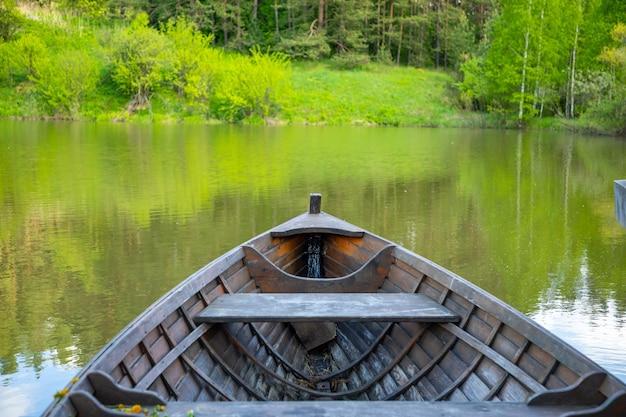 夏の時間の森のタイガzaimkaシベリアロシア Premium写真