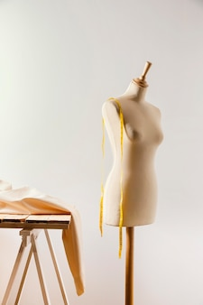 Tailor scene with mannequin
