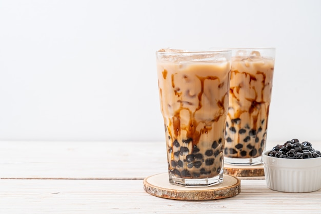 Тайвань молочный чай с пузырем