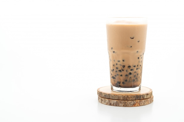 Taiwan milk tea with bubbles