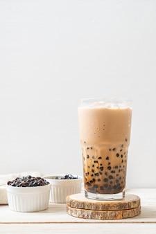 泡のある台湾ミルクティー