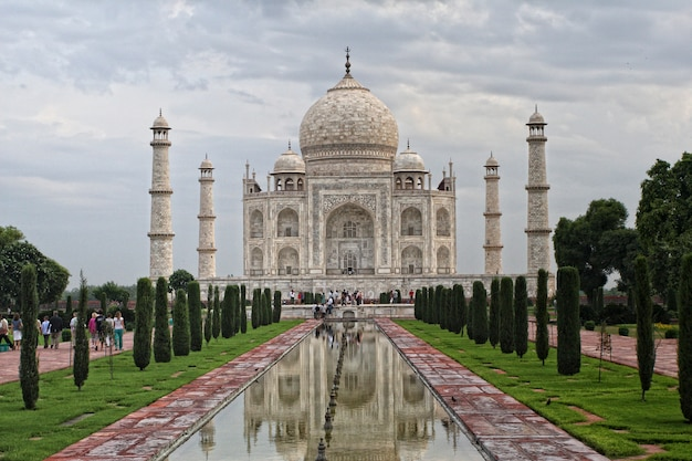 Taj mahal indian monument