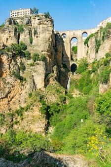 Tajo in ronda town of andalucia spain