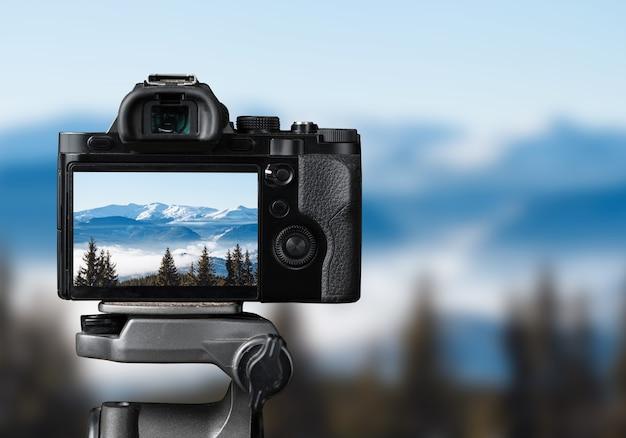 デジタル一眼レフカメラで自然の写真を撮る