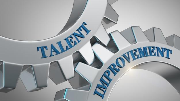 Talent improvement background