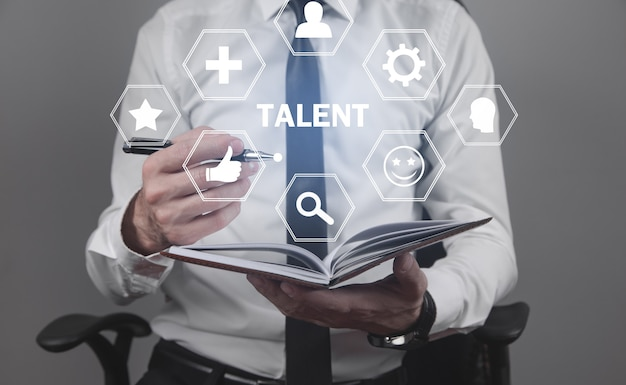 Talent and potential. human resources