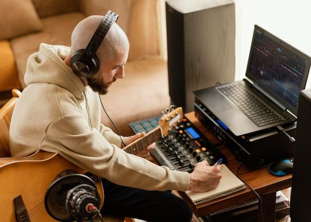 音楽を生み出す才能ある人