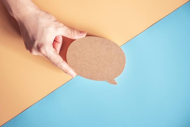 Talk bubble speech icon
