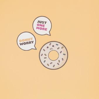 Talking doughnut