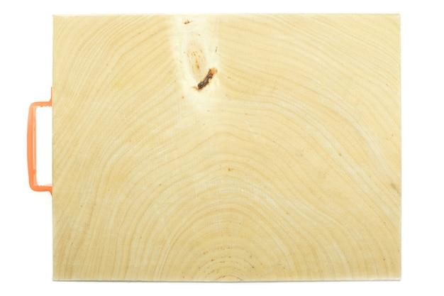 흰색 바탕에 타마린드 나무 정육점 블록 조리대