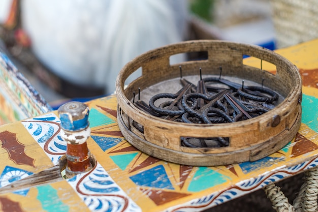 Tambourine and sicilian scacciapensieri