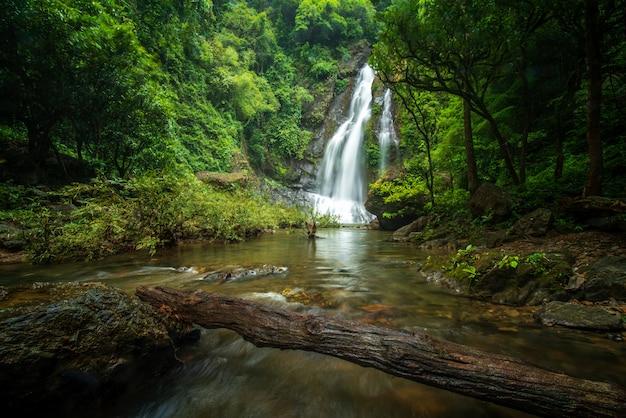 Tamnung waterfall at phuket thailand
