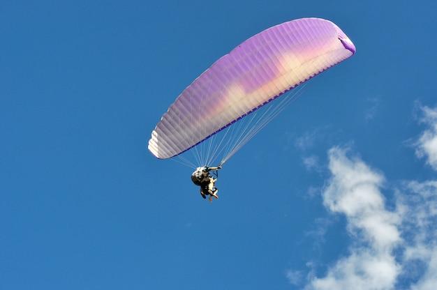 タンデムパラグライダー飛行