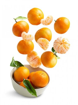 Tangerines flying