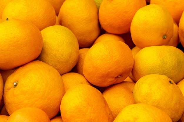 Tangerines fruit oranges background. market healthy fresh. sweet juicy