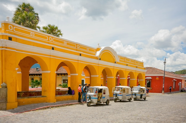 Tanque la union in antigua guatemala.