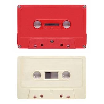 分離されたテープカセット