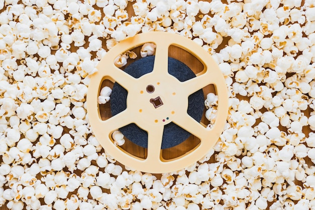 Nastro di bobina di film in popcorn