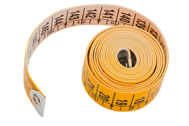 Tape rolled a over white background-shallow depth of field-