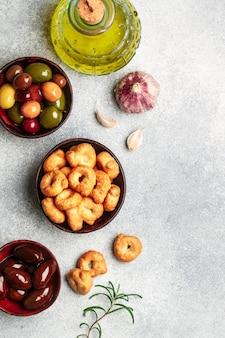 Tarallini-italian small bagels