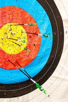 Цель и стрелки