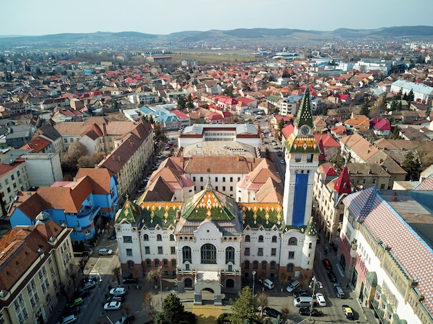 Targu mures city town hall