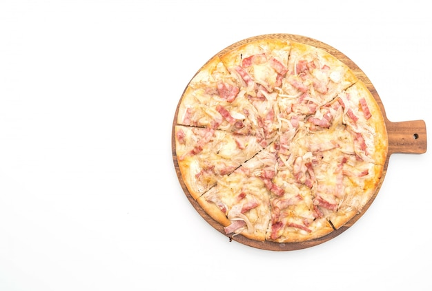 Tarte flambé pizza