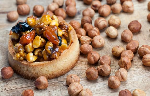 タルトナッツとドライフルーツ