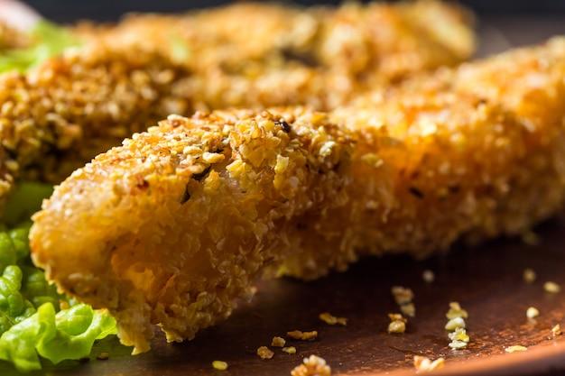 Tasty baked fish