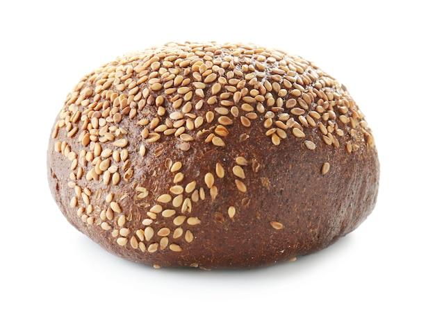Tasty bun. freshly baked bread products