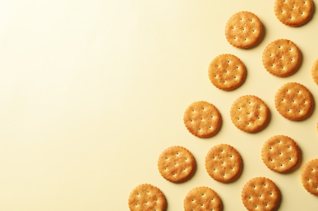 Tasty cracker biscuits