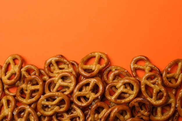 Tasty cracker pretzels