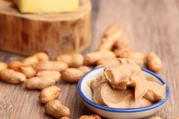 Tasty creamy peanut butter