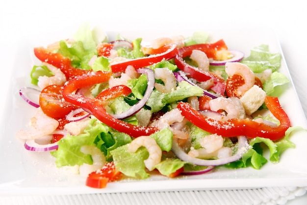 Tasty and fresh salad food