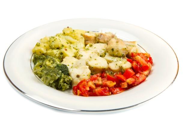 야채와 함께 맛있는 건강 아귀
