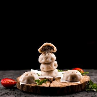 木のおいしい肉餃子