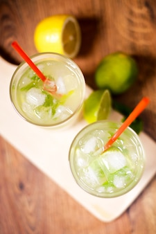 Tasty mojito coctail