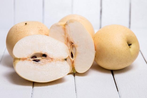 Tasty nashi pears