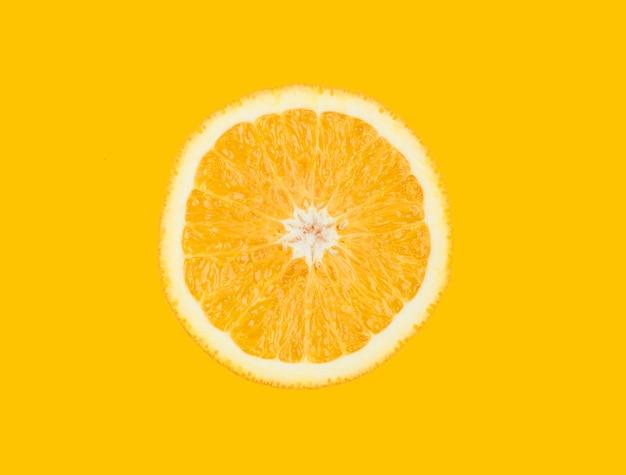Tasty orange slice