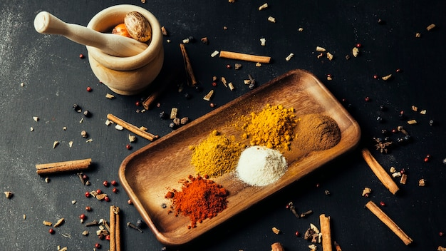 Tasty oriental spices