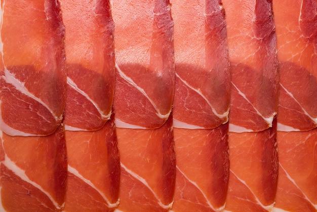 Вкусное нарезанное вяленое мясо