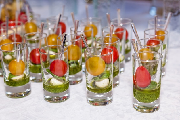 Tasty snacks for events and celebrations, catering food
