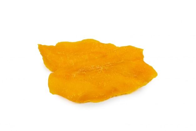 Вкусные кусочки сахарного манго крупным планом