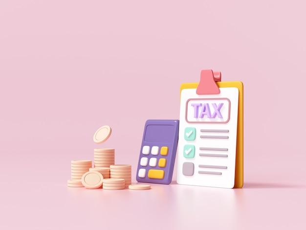 納税と事業税のコンセプト